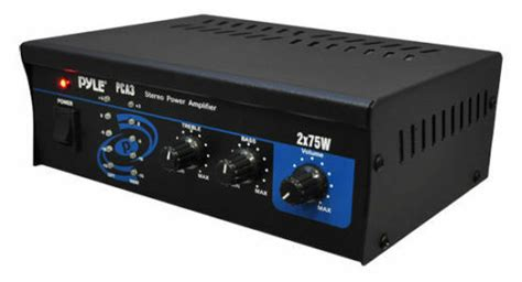 pyle pca mini xw home house theater stereo power amp