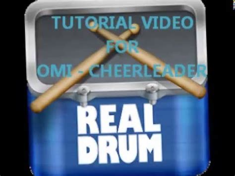 real drum app tutorial video tutorial for real drum apps cover by raymund omi