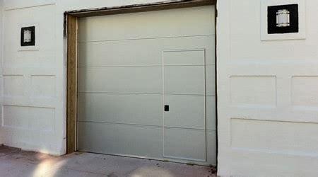 prix d une porte de garage avec portillon co 251 t moyen