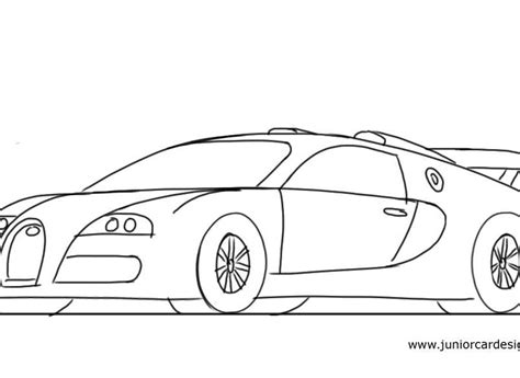 how to draw a 458 junior car designer comfortable line drawings of cars pictures inspiration