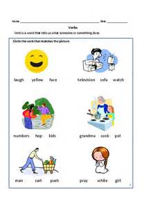 ideas about verb worksheets for kindergarten easy
