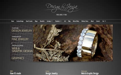 Jewelry Websites by Jewelry Website Design Jewelry Shopping Cart Website