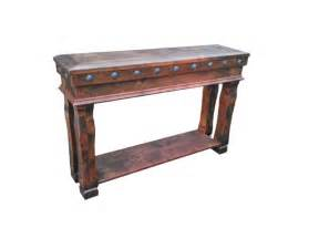 Rustic End Tables And Coffee Tables Durango Sofa Table Rustic Side Tables And End Tables