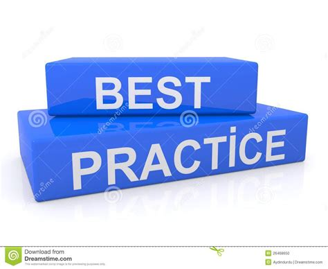 Best Practice Sign Stock Photo   Image: 26468650