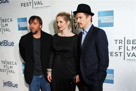 Linklatter And Nicky by Richard Linklater Pictures Before Midnight Premieres