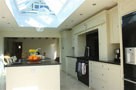 kitchen roof design bespoke shaker style kitchens peacock joinery