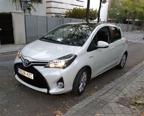al volante toyota yaris el toyota yaris hybrid 2015 a prueba interior y