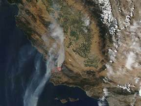 Used California Smoke From California S Alamo Earth Earthsky