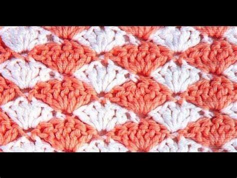 shell pattern crochet youtube crochet shell stitch youtube