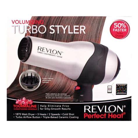 Volumizing Hair Dryer Attachments revlon heat volumizing turbo styler rv473 health personal care hair care hair