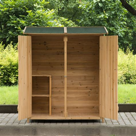 Wooden Garden Shed by Outdoor Wooden Storage Sheds Inspiration Pixelmari
