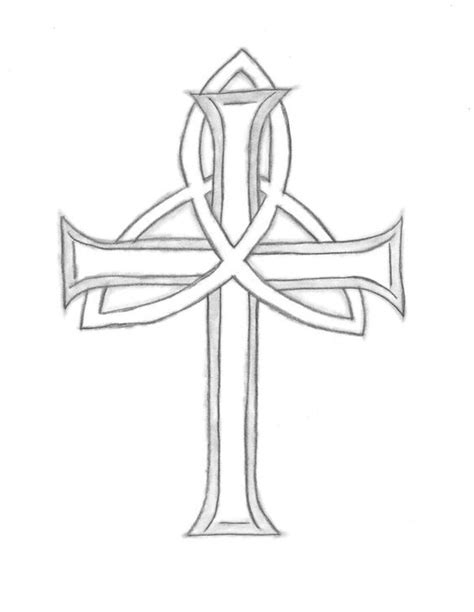 cross with scroll tattoo cross with scrolls tattoos clipart best