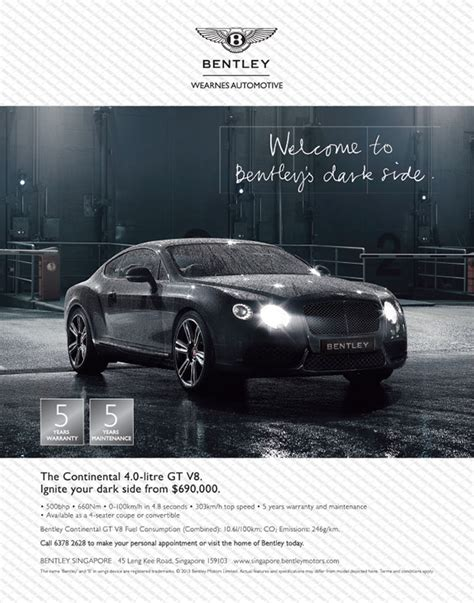 bentley ad o2 advertising interactive a member of the ad planet