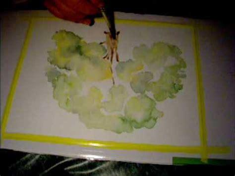 dibujos para pintar con acuarelas acuarela n 186 5 youtube