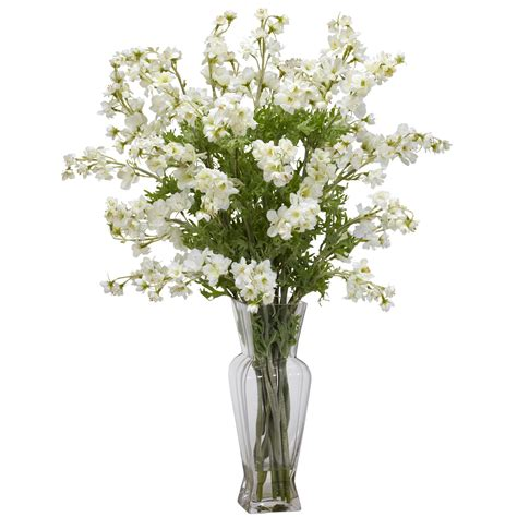 Flowers In White Vase by Vases Design Ideas Decorative Vases And Faux Flowers
