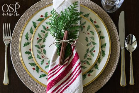 christmas place settings christmas table setting ideas on sutton place