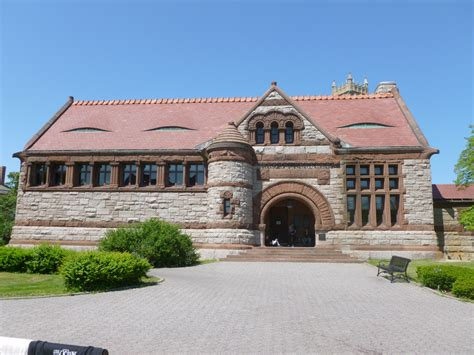 richardson architect file thomas crane public library quincy ma richardson