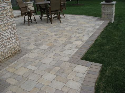 Raised Patios Traditional Patio Detroit By Apex Raised Paver Patio Designs