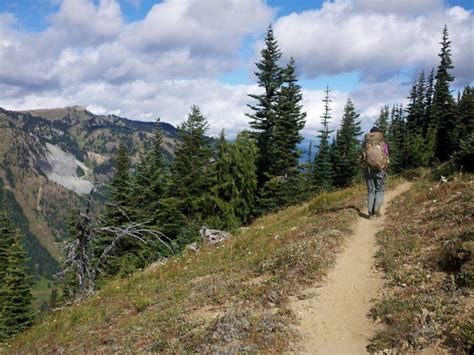 Pacific Crest Trail Section J by Pacific Crest Trail Section J At Pass To
