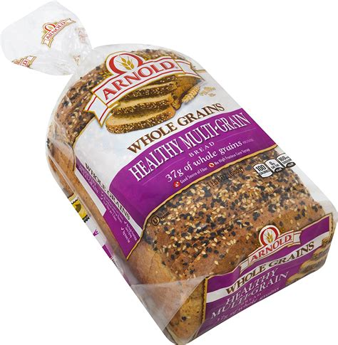 whole grain bread 1 slice calories carbs in multigrain bread