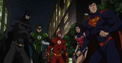 nonton film online justice league war review warner bros animated dc comics justice league war