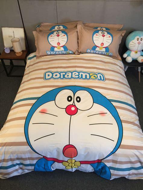 Bed Cover King Fata Doraemon Berkualitas popular doraemon bed sheets buy cheap doraemon bed sheets lots from china doraemon bed sheets