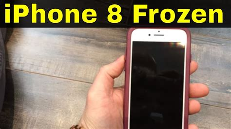 how to fix an iphone 8 frozen screen easy repair