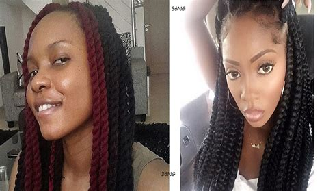 tiwa savagehairstyle in lookulooku video tiwa savage or yemi alade who rocked the braids hairstyle
