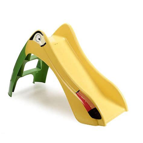 scivolo in plastica per giardino scivolo per bambini plastica 120x56x h75cm divertimento