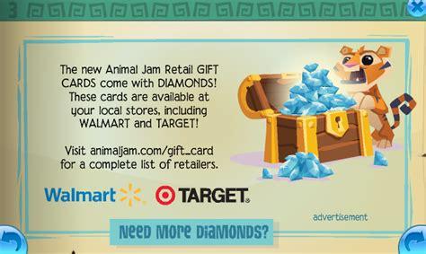 Animal Jam Diamond Gift Card - animal jam diamond codes newhairstylesformen2014 com