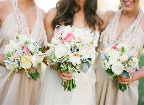 enchanting spring wedding once wed