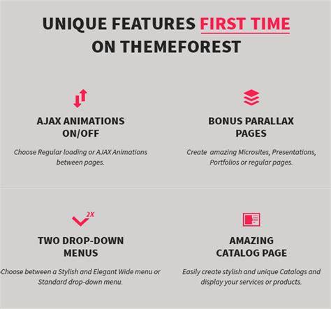 themeforest qode minimum professional wordpress theme by qode themeforest