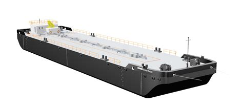 Bunker Barge of 16 m beam fits for multiple types of liquids