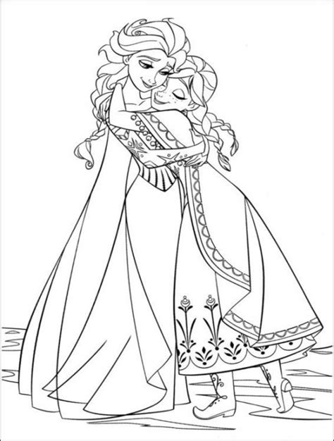 free printable coloring pages disney frozen coloring page world frozen portrait