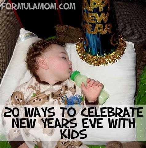 ways to celebrate new years eve with kids pinterest