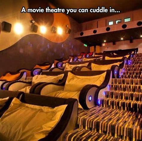 bed movie theater sure let s say you can cuddle the meta picture