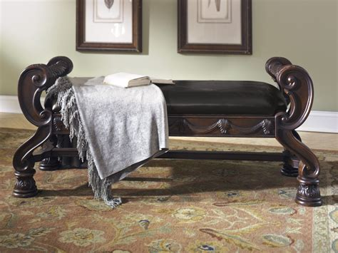 bed bench furniture north shore large uph bedroom bench b553 09 benches