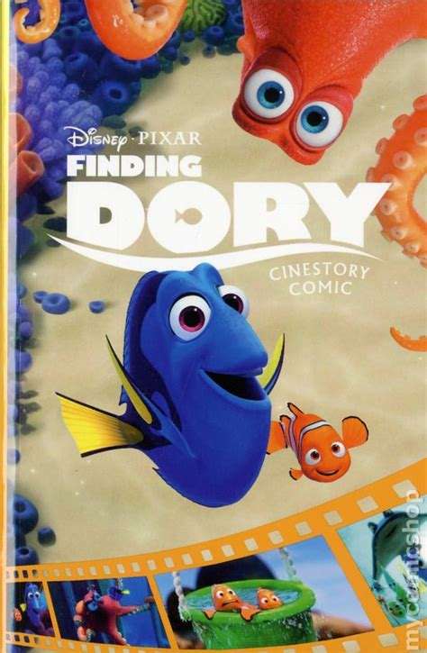 disney pan cinestory comic books finding dory cinestory comic gn 2016 joe books disney