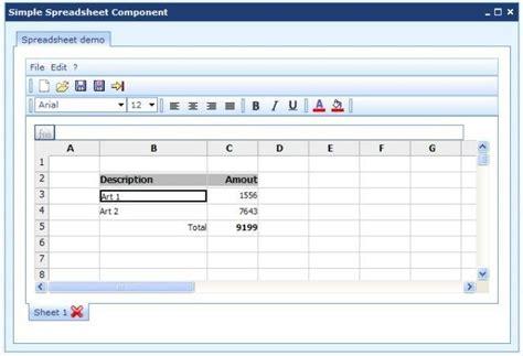 Javascript Spreadsheet by Cashier Spreadsheet Freeware Downloads Openjeks A Free