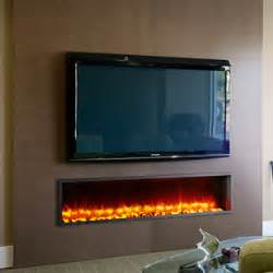 Built In Electric Fireplace Dynasty 63 In Built In Electric Fireplace Dy Bt63