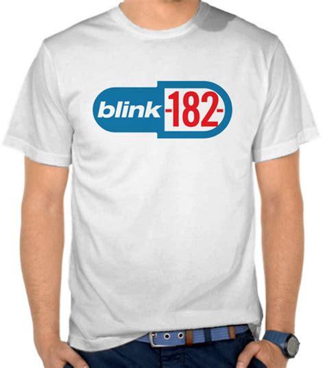 Kaos Logo Blink 182 jual kaos blink 182 capsule logo blink 182 satubaju