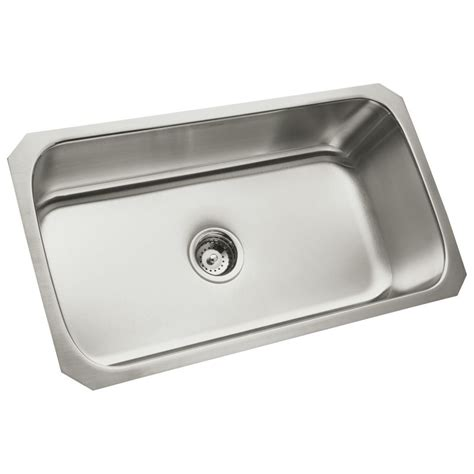 sterling kitchen sinks sterling 11600 na stainless steel kitchen sink build com