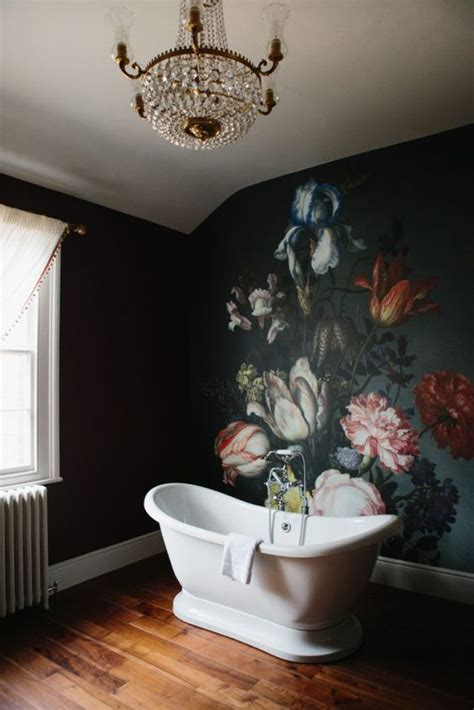 home bloom   floral wallpaper ideas