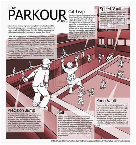 how to do parkour in your backyard beginner tips and terms parkour parkour moves and martial