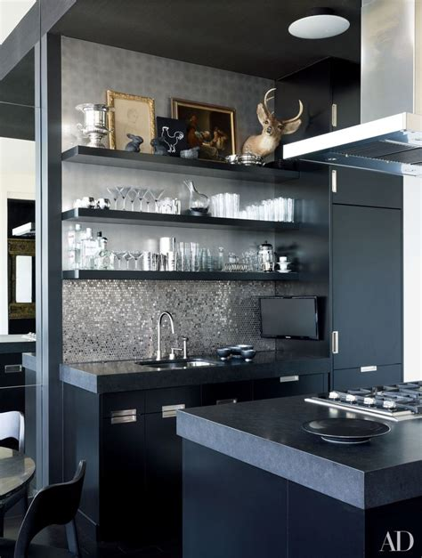bespoke kitchen tiles 8 bold black kitchen ideas to improve your style at home