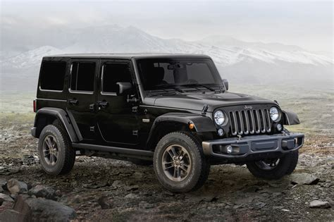 standard jeep wrangler 2017 jeep wrangler suv pricing for sale edmunds