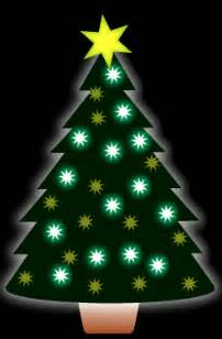 animated christmas tree clip art free animated tree clipart 11
