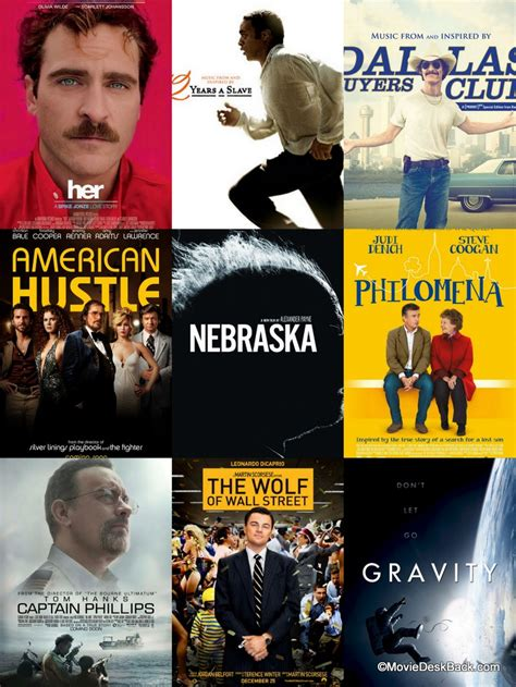 Which Film Got Oscar In 2014 | 2014 oscar nominations or will leo finally get one