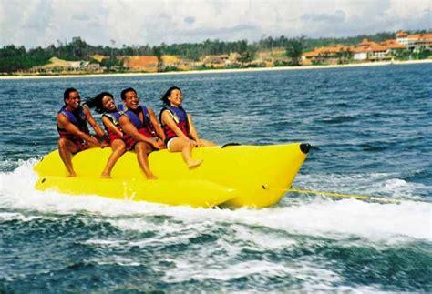 banana boat queen goa rides check out goa rides cntravel