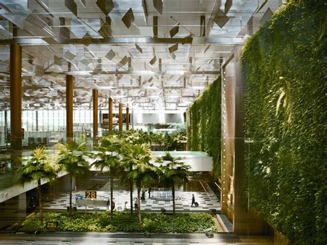 Singapore Vertical Garden Singapore S Changi Airport Named World S Best